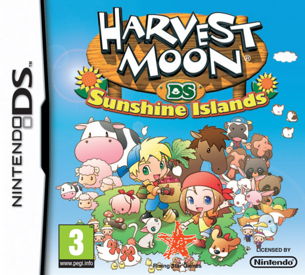 Harvest Moon DS: Sunshine Islands Cover Artwork