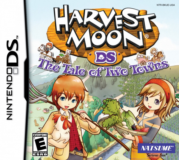 Harvest Moon DS: The Tale of Two Towns Cover Artwork