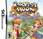 Harvest Moon DS: The Tale of Two Towns Cover (Click to enlarge)