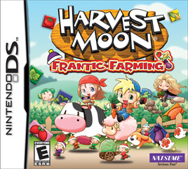 Harvest Moon: Frantic Farming Cover Artwork