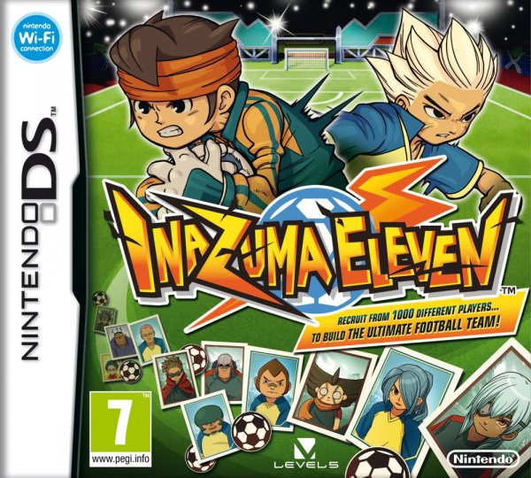 Inazuma Eleven Cover Artwork