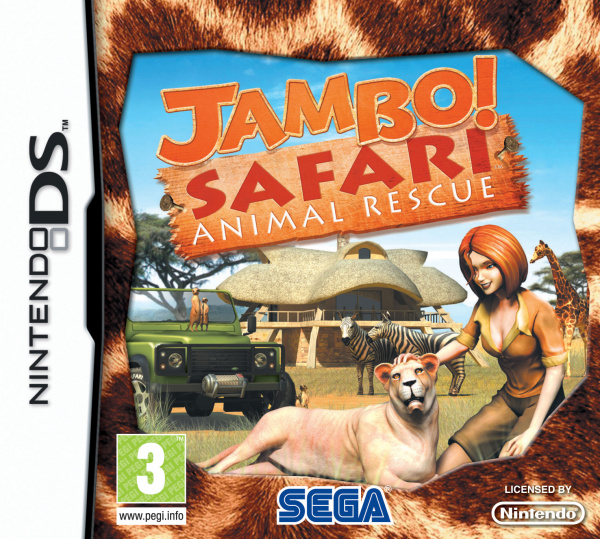 Jambo! Safari Cover Artwork