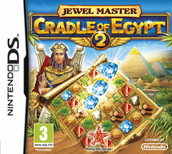 Jewel Master: Cradle of Egypt 2 Cover Artwork