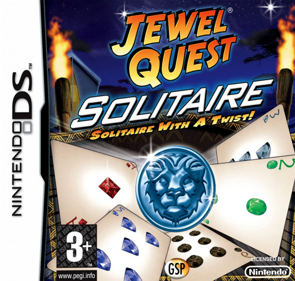 Jewel Quest Solitaire Cover Artwork
