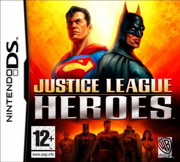 Justice League Heroes Cover Artwork