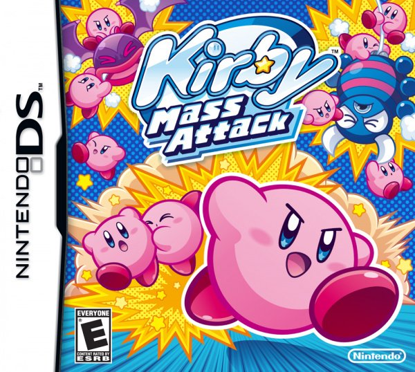 Kirby Mass Attack Cover Artwork
