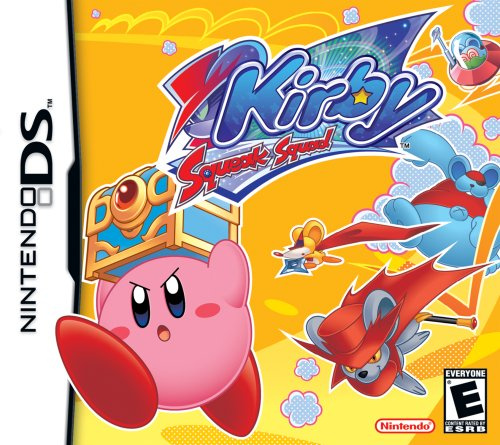 Kirby Squeak Squad Cover Artwork