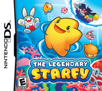 The Legendary Starfy Cover Artwork
