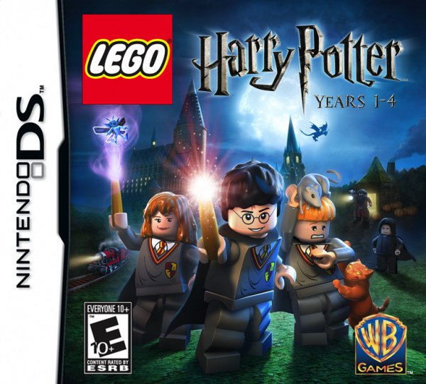 LEGO Harry Potter: Years 1-4 Cover Artwork