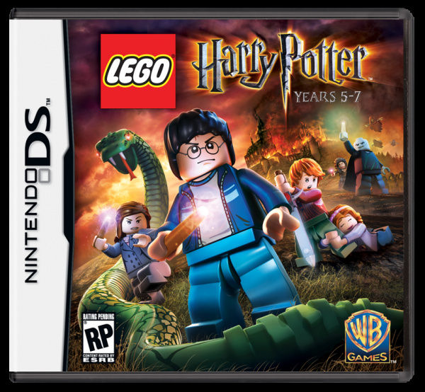 LEGO Harry Potter: Years 5-7 Cover Artwork