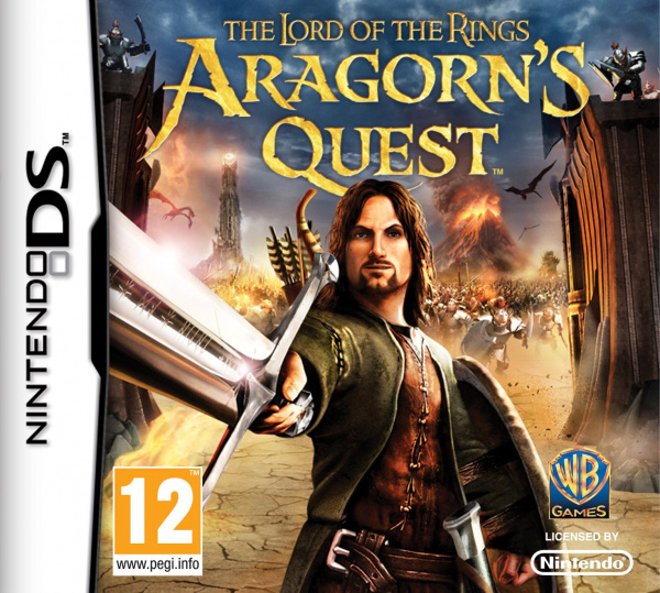 Lord of the Rings: Aragorn's Quest Cover Artwork