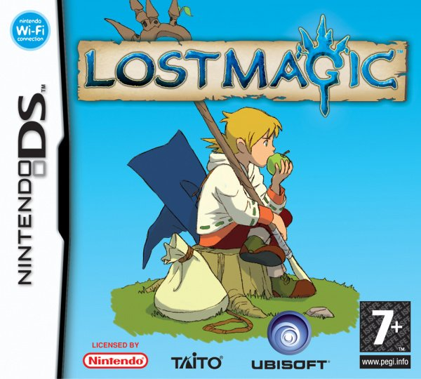 Lost Magic Cover Artwork