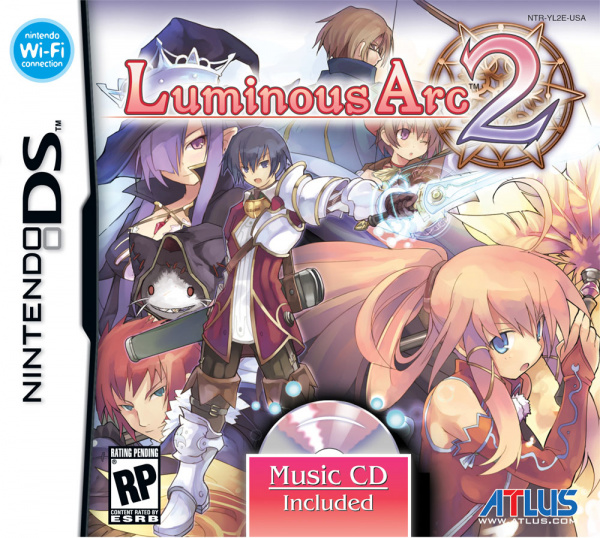 Luminous Arc 2 Cover Artwork