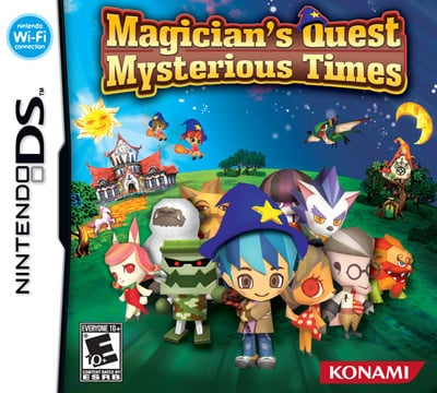 Magician's Quest Mysterious Times Cover Artwork