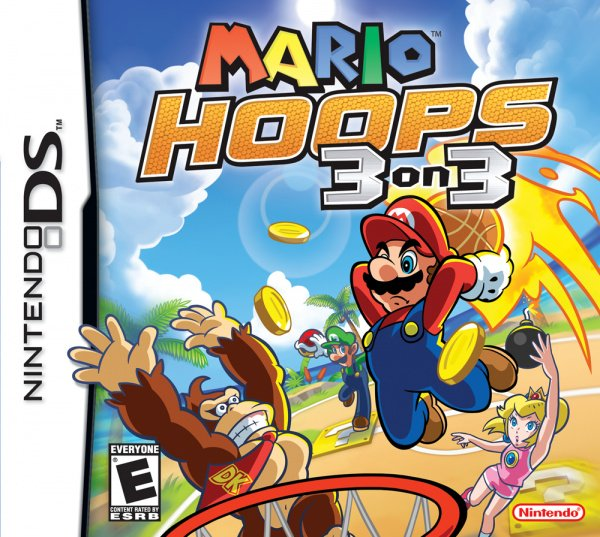 Mario Hoops 3 on 3 Cover Artwork