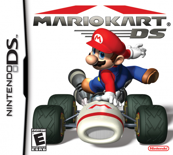 Mario Kart DS Cover Artwork