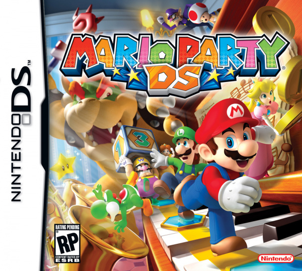 Mario Party DS Cover Artwork