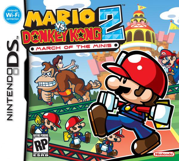 Mario vs. Donkey Kong 2: March of the Minis Cover Artwork
