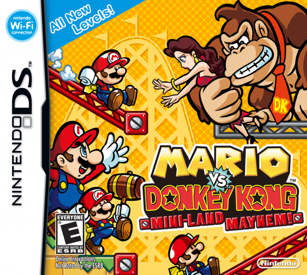 Mario vs. Donkey Kong: Mini-Land Mayhem! Cover Artwork
