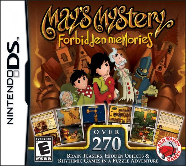 May's Mystery: Forbidden Memories Cover Artwork