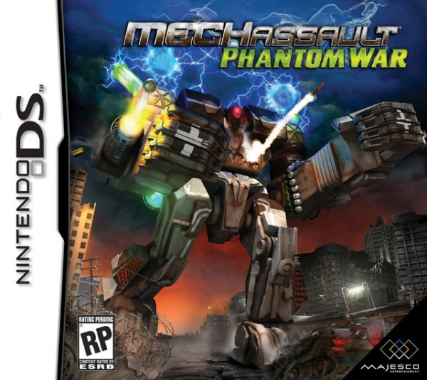 MechAssault: Phantom War Cover Artwork