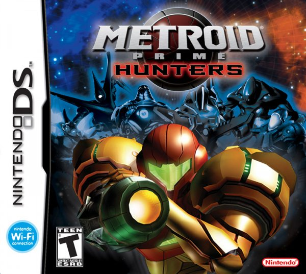 Metroid Prime: Hunters Cover Artwork