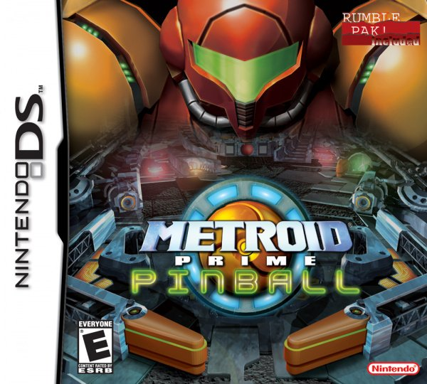 Metroid Prime Pinball Cover Artwork