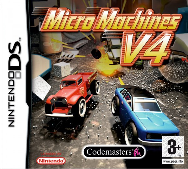 Micro Machines v4 Cover Artwork