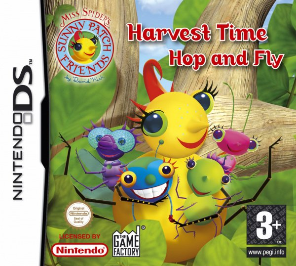 Miss Spider - Harvest Time Hop and Fly Cover Artwork