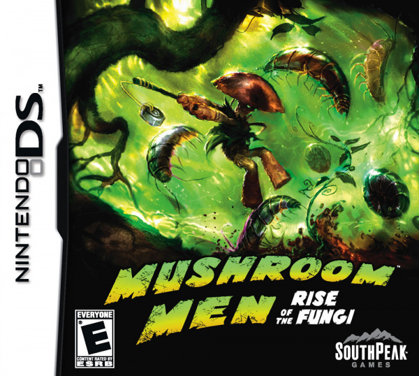 Mushroom Men: Rise of the Fungi Cover Artwork