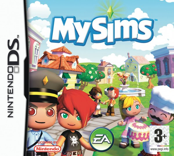 MySims Cover Artwork