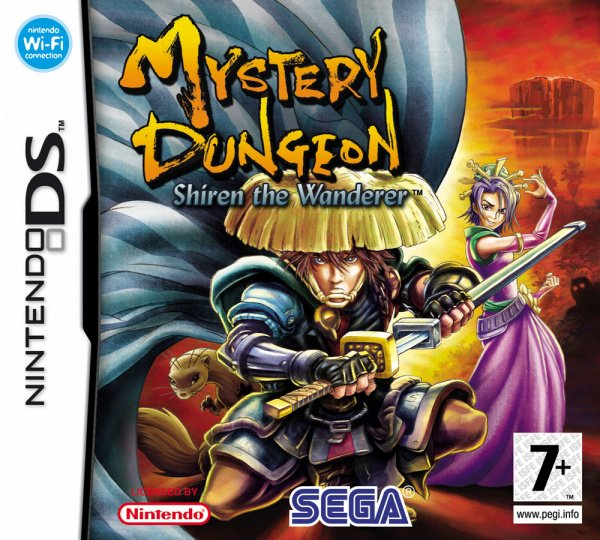 Mystery Dungeon: Shiren the Wanderer Cover Artwork