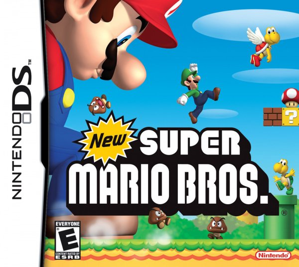 New Super Mario Bros. Cover Artwork