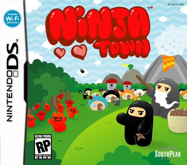 Ninjatown Cover Artwork