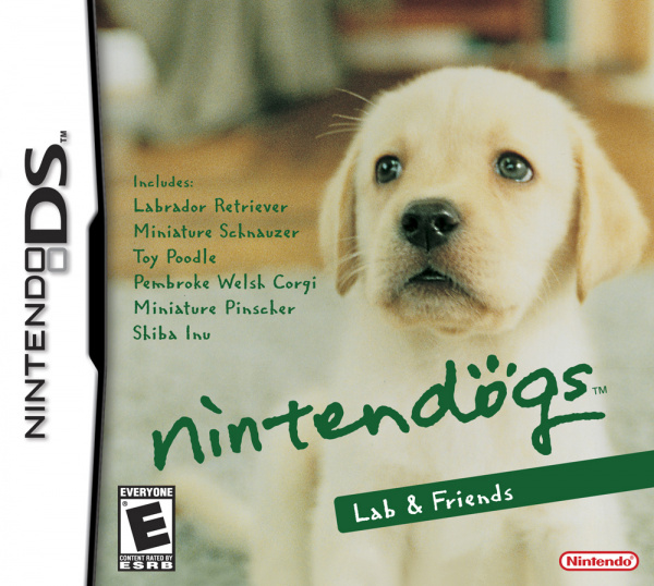 Nintendogs Cover Artwork