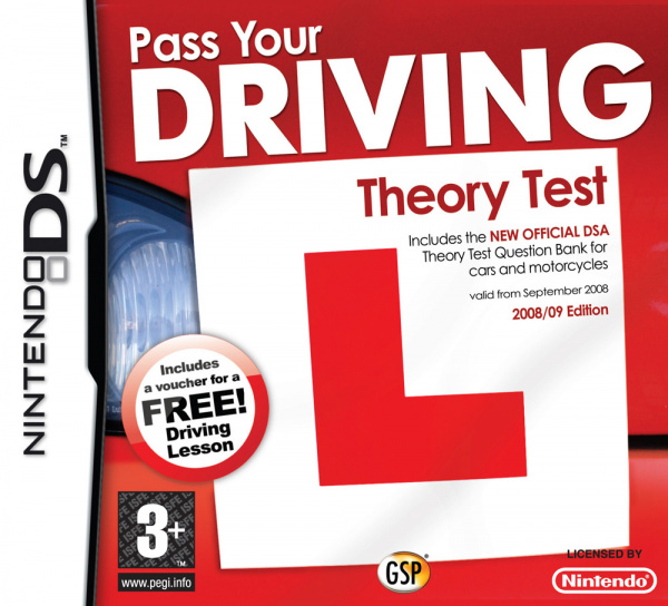 Pass Your Driving Theory Test Cover Artwork