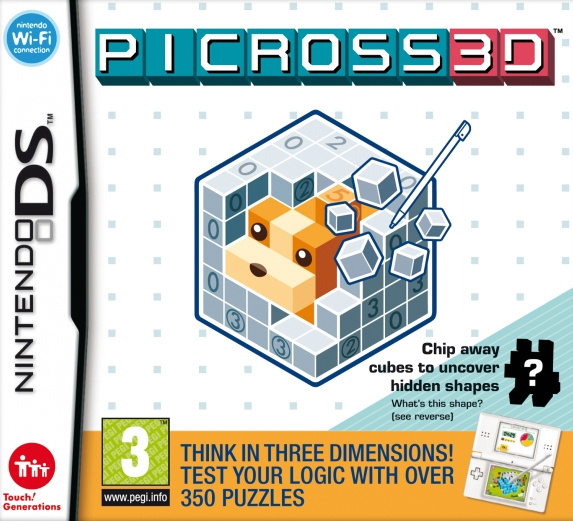 Picross 3D Cover Artwork