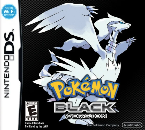 Pokémon Black and White Cover Artwork