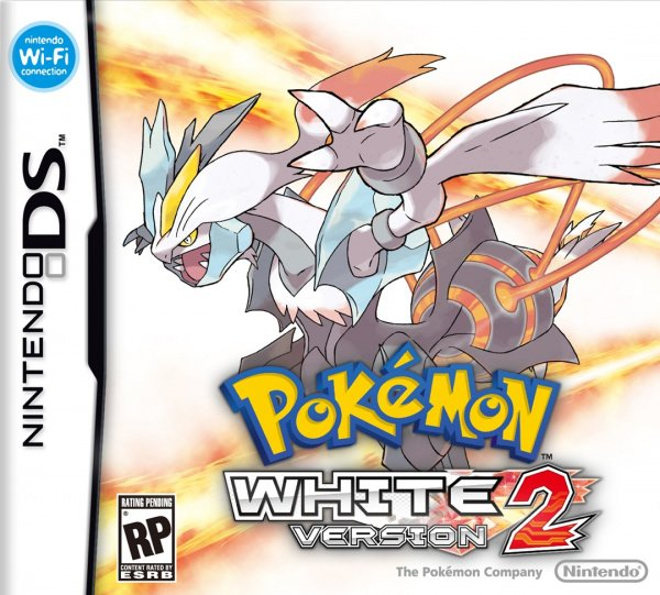 Pokémon Black and White 2 Cover Artwork