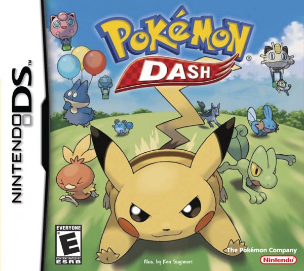 Pokémon Dash Cover Artwork