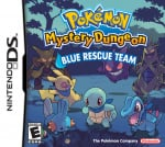 Pokémon Mystery Dungeon: Blue Rescue Team Cover (Click to enlarge)