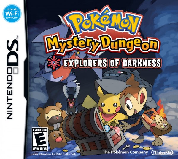 Pokémon Mystery Dungeon: Explorers of Time / Darkness Cover Artwork
