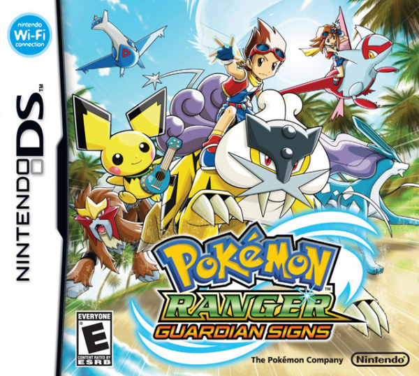 Pokémon Ranger: Guardian Signs Cover Artwork