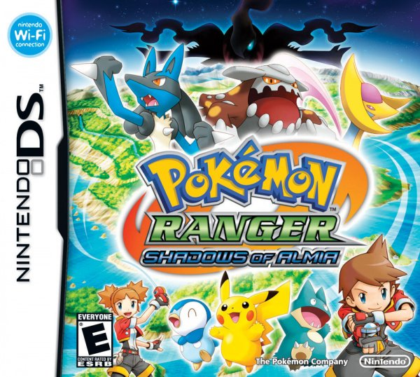 Pokémon Ranger: Shadows of Almia Cover Artwork