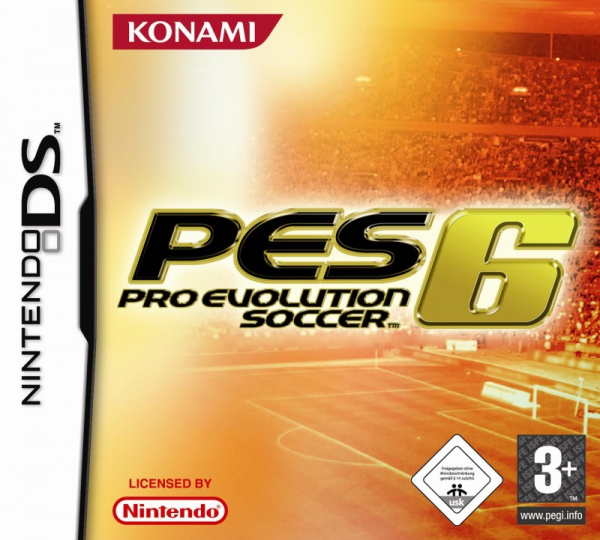 Pro Evolution Soccer 6 Cover Artwork