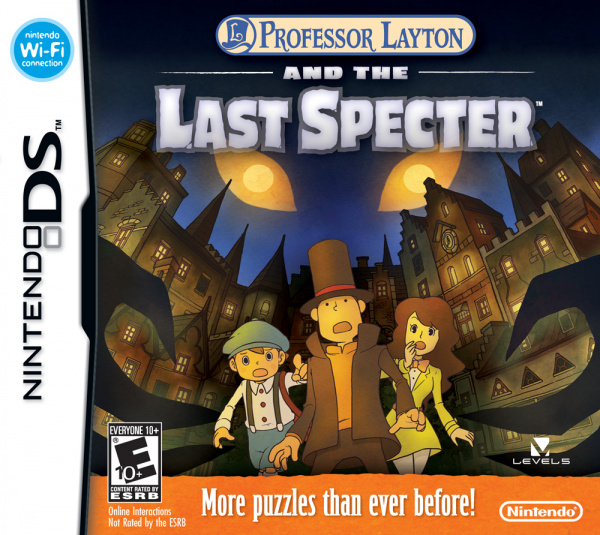 Professor Layton and the Last Specter Cover Artwork