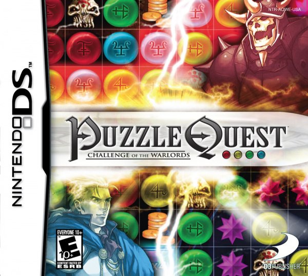 Puzzle Quest Cover Artwork