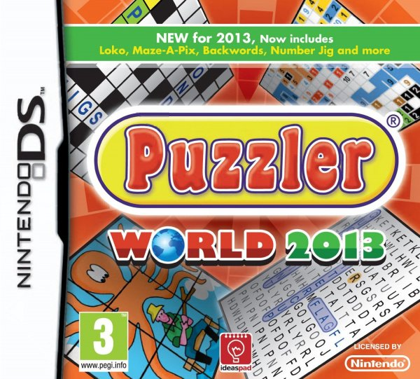 Puzzler World 2013 Cover Artwork