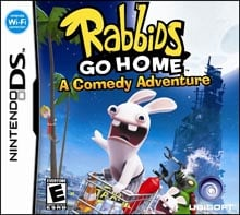 Rabbids Go Home Cover Artwork