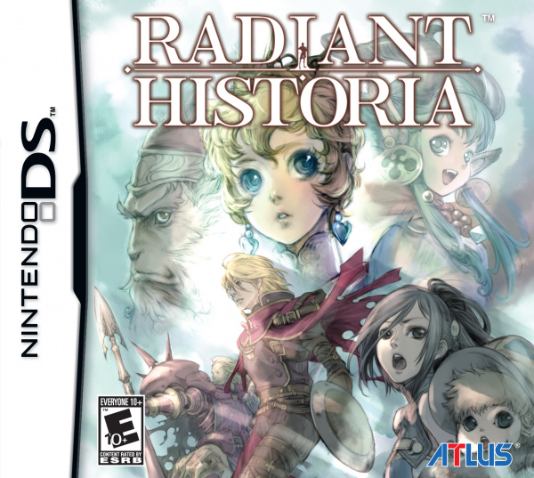 Radiant Historia Cover Artwork